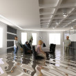 Flooding office — Stock Photo #3333763