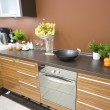 Stock Photo: Modern kitchen detail