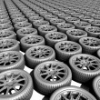 Wheel background — Stock Photo