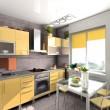 Foto Stock: Modern kitchen