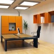 Modern cabinet interior — Stock Photo