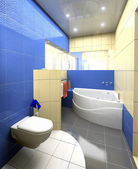 Modern Toilet interior — Stock Photo