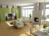 Modern interieur — Stockfoto