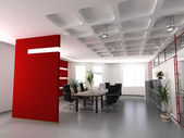 Modern office interior — Foto de Stock