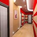 Corridor interior — Stock Photo