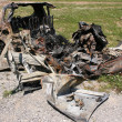 Burnt car - 