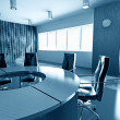 Empty boardroom — Foto de Stock