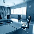 Stock Photo: Empty boardroom