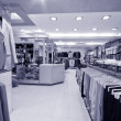 Modern shop interior — Photo