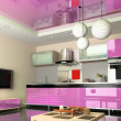Modern kitchen — Stockfoto #3463628
