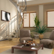 Stock Photo: Modern interior