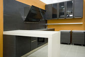 The modern kitchen details — Stock fotografie