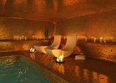 Intérieur moderne spa — Photo