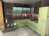 La cocina moderna — Foto de Stock