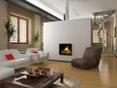 Privates-Interieur — Stockfoto