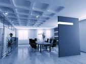 Empty boardroom — Stock Photo