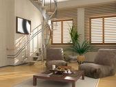 Moderní interiér — Stock fotografie