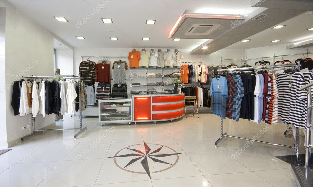 Modern shop interior photo   Stock Photo #3463361