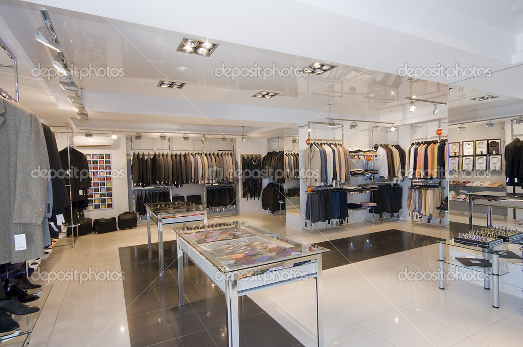 Modern shop interior image — Stock Photo #3463529