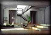 Modern interior — Stockfoto