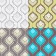 Royalty-Free Stock Vector Image: Seamless Pattern Set