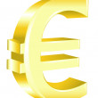 Stock Vector: Euro Sign