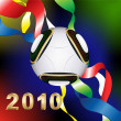 2010 WorldCup — Stock Vector