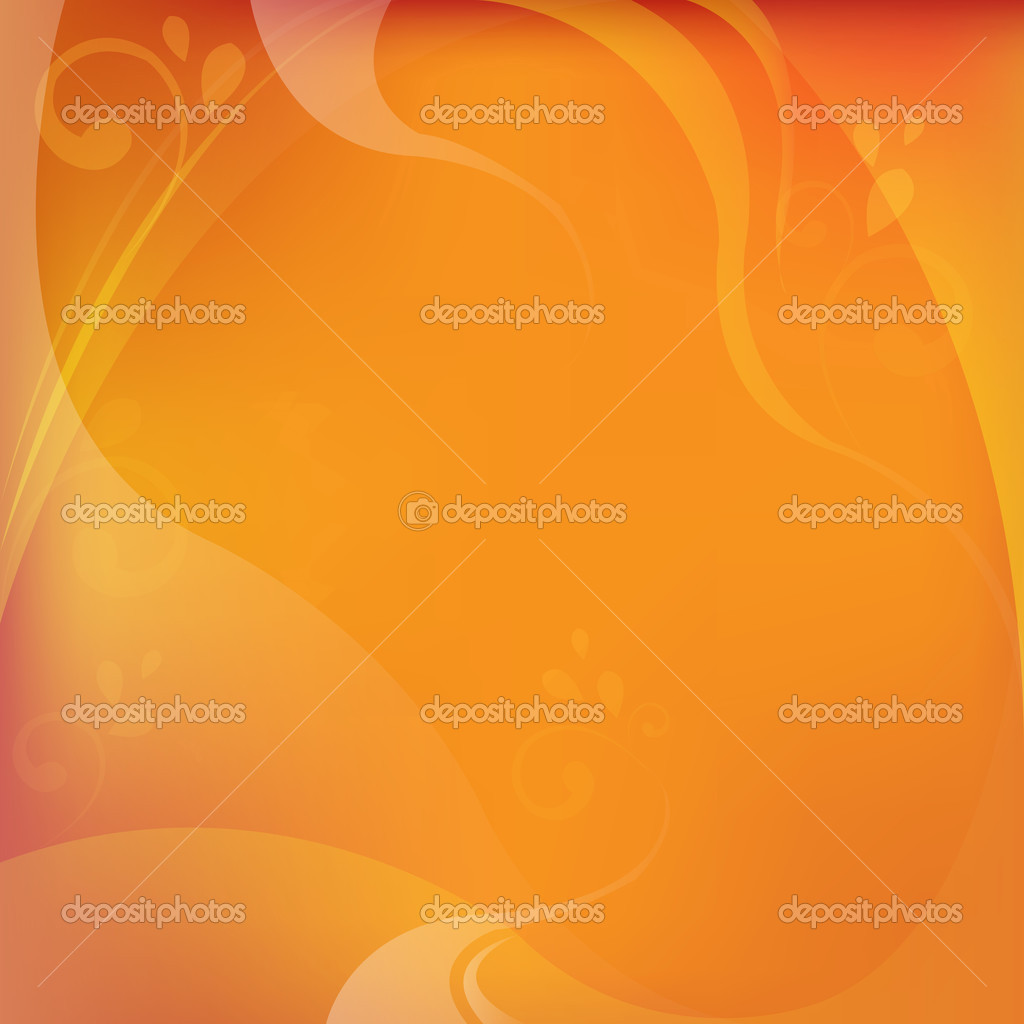Abstract Dynamical Red And Orange Background With Frame — Stock Vector #3355966