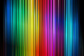 Abstract Colorful Vertical Striped Pattern Background — Stock Vector