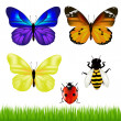Butterflies Set — Image vectorielle