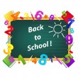 Royalty-Free Stock Imagem Vetorial: Back To School