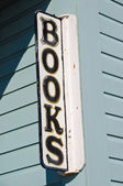 Bookstore Sign — Foto de Stock