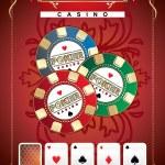 Poster Poker — Stock Vector