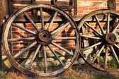 Old cartwheel — Stock Photo