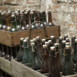 Royalty-Free Stock Photo: Old beer bottles