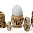 Nested doll and egg — Stock Photo #2729495