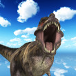 Stock Photo: T Rex Roar