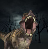 T Rex Roar — Stock Photo