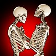 Stock Photo: Tender Skeletons