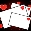Some Love Letters — Stock Photo