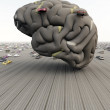 Car Brain — Stock Photo