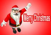 Father Christmas — Stock Photo
