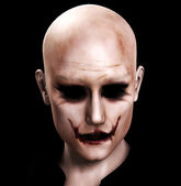 Evil Sinister Man — Stock Photo