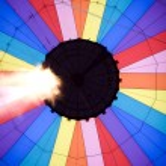 Hot air balloon — Stock Photo #3419349