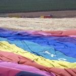 Hot air balloon laying — Stock Photo #3440522