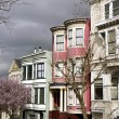 Stock Photo: Roofs of SFrancisco