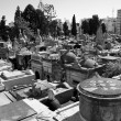 Stock Photo: Buenos Aires cemetery from above