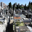 Royalty-Free Stock Photo: Buenos Aires cemetery from above