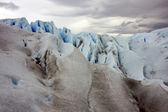 Glacier Perito Moreno ice — Stock Photo