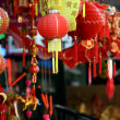 Stock Photo: Chinatown market store